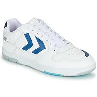 Obuća Muškarci  Niske tenisice Hummel POWER PLAY Bijela / Blue