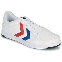Obuća Muškarci  Niske tenisice Hummel STADIL LIGHT Bijela / Blue / Red