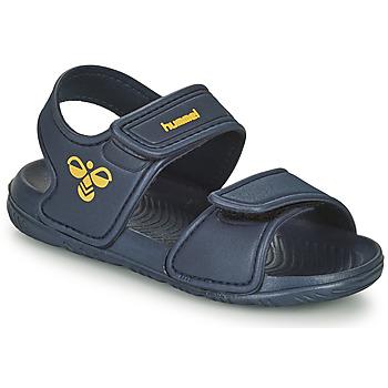 Obuća Djeca Sportske sandale Hummel PLAYA JR Blue