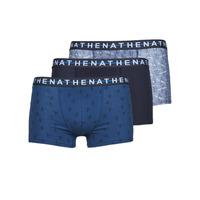 Donje rublje Muškarci  Bokserice Athena EASY STYLE X3 Blue / Blue