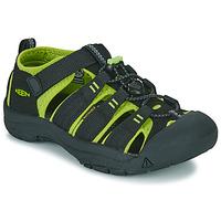 Obuća Dječak  Sportske sandale Keen NEWPORT H2 Crna / Zelena