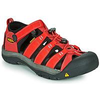 Obuća Djeca Sportske sandale Keen NEWPORT H2 Red