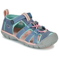 Obuća Djevojčica Sportske sandale Keen SEACAMP II CNX Siva / Ružičasta