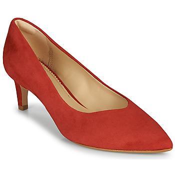 Obuća Žene  Salonke Clarks LAINA55 COURT2 Red