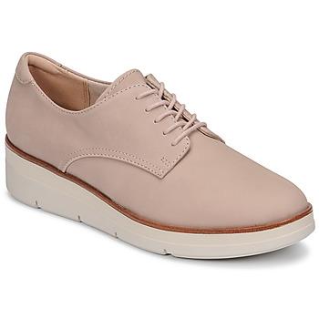 Obuća Žene  Derby cipele Clarks SHAYLIN LACE Ružičasta