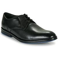 Obuća Muškarci  Derby cipele Clarks CITISTRIDELACE Crna
