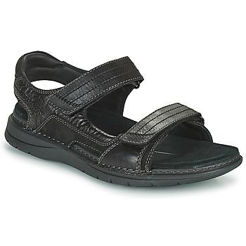 Obuća Muškarci  Sportske sandale Clarks NATURE TREK Crna