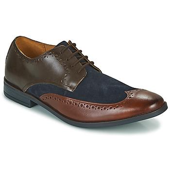 Obuća Muškarci  Derby cipele Clarks STANFORD LIMIT Smeđa / Blue