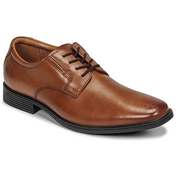 Obuća Muškarci  Derby cipele Clarks TILDEN PLAIN Smeđa