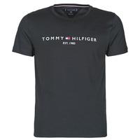 Odjeća Muškarci  Majice kratkih rukava Tommy Hilfiger CORE TOMMY LOGO Crna