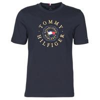 Odjeća Muškarci  Majice kratkih rukava Tommy Hilfiger ICON COIN TEE Blue