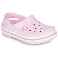 Obuća Djevojčica Klompe Crocs CROCBAND CLOG K Ružičasta