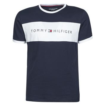 Odjeća Muškarci  Majice kratkih rukava Tommy Hilfiger CN SS TEE LOGO FLAG Bijela