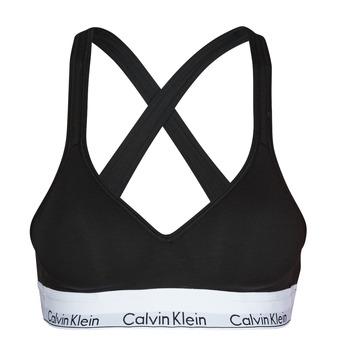Donje rublje Žene  Topovi Calvin Klein Jeans MODERN COTTON BRALETTE LIFT Crna