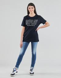 Odjeća Žene  Skinny traperice Replay HYPERFLEX LUZ Blue