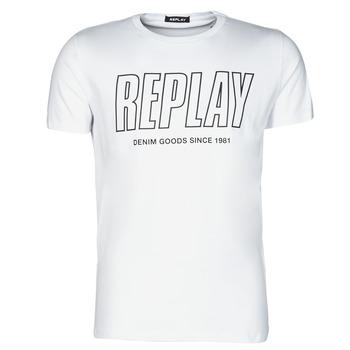 Odjeća Muškarci  Majice kratkih rukava Replay M3395-2660 Bijela