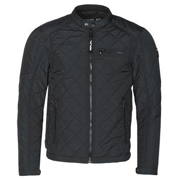 Odjeća Muškarci  Kratke jakne Replay  Crna