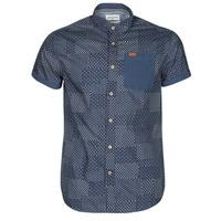 Odjeća Muškarci  Košulje kratkih rukava Deeluxe ETHNIC Blue