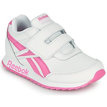 Obuća Djevojčica Niske tenisice Reebok Classic REEBOK ROYAL CLJOG 2 KC Bijela / Ružičasta