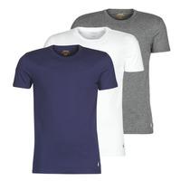 Odjeća Muškarci  Majice kratkih rukava Polo Ralph Lauren SS CREW NECK X3 Siva / Bijela