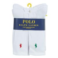 Modni dodaci Muškarci  Čarape Polo Ralph Lauren ASX110 6 PACK COTTON Bijela
