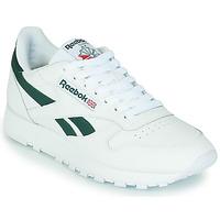 Obuća Niske tenisice Reebok Classic CL LTHR Bijela / Zelena