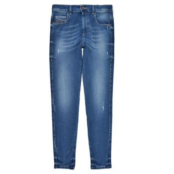 Odjeća Djevojčica Skinny traperice Diesel D-SLANDY HIGH Blue
