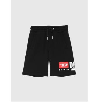 Odjeća Dječak  Bermude i kratke hlače Diesel PSHORTCUTY Crna