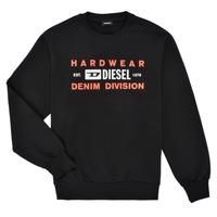 Odjeća Dječak  Sportske majice Diesel SGIRKK10 Crna