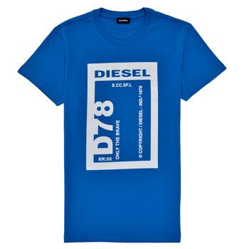 Odjeća Dječak  Majice kratkih rukava Diesel TFULL78 Blue