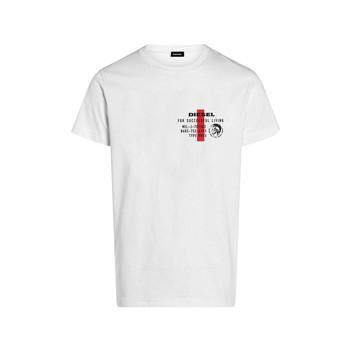 Odjeća Dječak  Majice kratkih rukava Diesel TDIEGOS Bijela