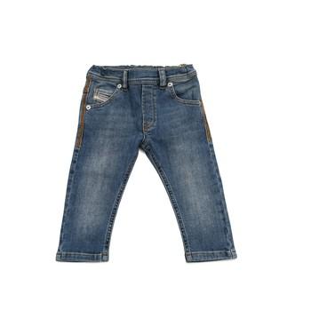 Odjeća Dječak  Slim traperice Diesel KROOLEY Blue