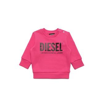 Odjeća Djevojčica Sportske majice Diesel SCREWDIVISION LOGOB Ružičasta