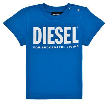 Odjeća Dječak  Majice kratkih rukava Diesel TJUSTLOGOB Blue