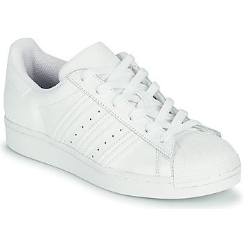 Obuća Djeca Niske tenisice adidas Originals SUPERSTAR J Bijela