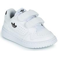Obuća Djeca Niske tenisice adidas Originals NY 92 CF I Bijela / Crna