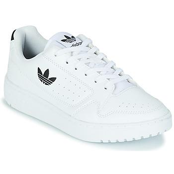 Obuća Djeca Niske tenisice adidas Originals NY 92 J Bijela / Crna