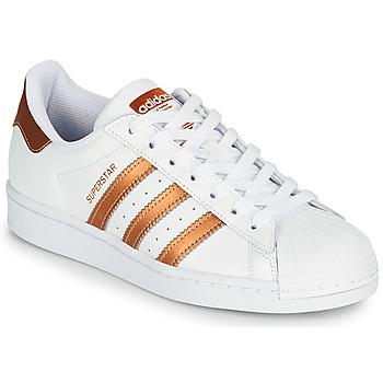 Obuća Žene  Niske tenisice adidas Originals SUPERSTAR W Bijela / Brončana