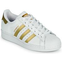 Obuća Žene  Niske tenisice adidas Originals SUPERSTAR W Bijela / Gold