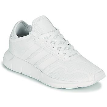 Obuća Djeca Niske tenisice adidas Originals SWIFT RUN X J Bijela