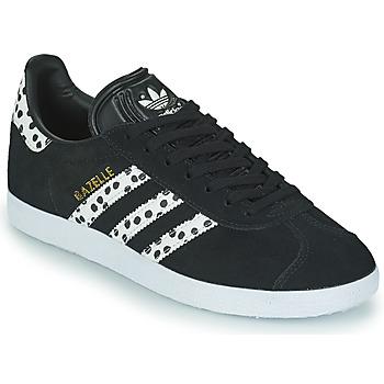 Obuća Žene  Niske tenisice adidas Originals GAZELLE W Crna / Bijela
