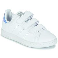 Obuća Djevojčica Niske tenisice adidas Originals STAN SMITH CF C SUSTAINABLE Bijela