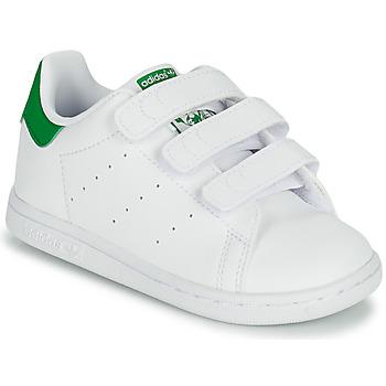 Obuća Djeca Niske tenisice adidas Originals STAN SMITH CF I SUSTAINABLE Bijela / Zelena