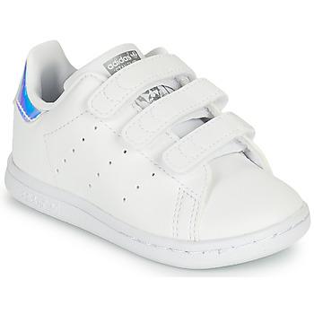 Obuća Djevojčica Niske tenisice adidas Originals STAN SMITH CF I SUSTAINABLE Bijela
