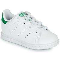 Obuća Djeca Niske tenisice adidas Originals STAN SMITH EL I SUSTAINABLE Bijela / Zelena