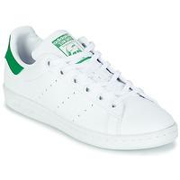 Obuća Djeca Niske tenisice adidas Originals STAN SMITH J SUSTAINABLE Bijela / Zelena