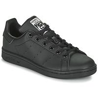 Obuća Djeca Niske tenisice adidas Originals STAN SMITH J SUSTAINABLE Crna