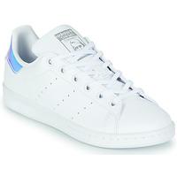 Obuća Djevojčica Niske tenisice adidas Originals STAN SMITH J SUSTAINABLE Bijela