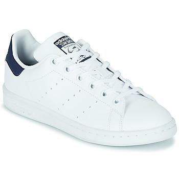 Obuća Djeca Niske tenisice adidas Originals STAN SMITH J SUSTAINABLE Bijela / Vegan