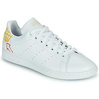 Obuća Žene  Niske tenisice adidas Originals STAN SMITH W SUSTAINABLE Bijela / Multicolour